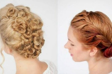 Stunning-Hair Updo Hairstyles for Short Hair