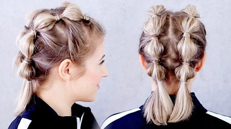 Stylish-Hair-Look Easy Braids for Short Hair