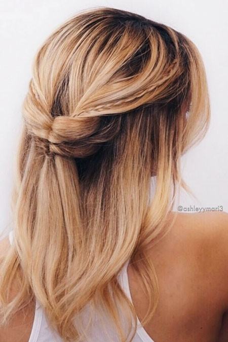 Summer-Hairtyle-for-Medium-Hair Ombre Hairstyles for Short Hair