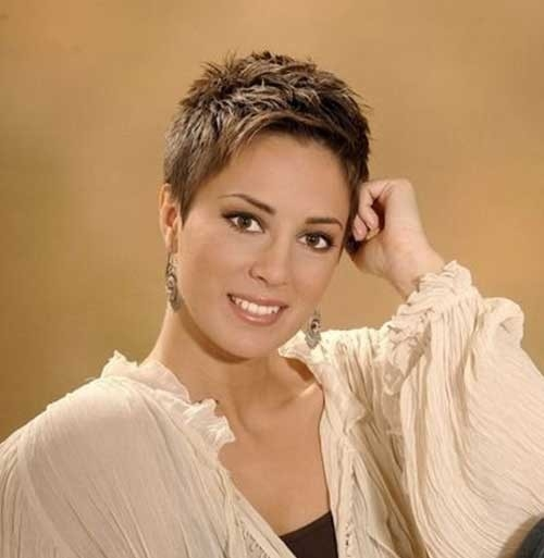 Super-Short-Layered-Cut Superb Short Pixie Haircuts for Women