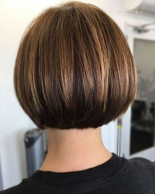 Undercut-Textured-Bob Chic Short Bob Haircuts for 2018