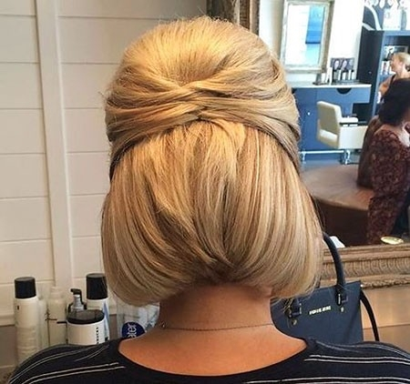 Updo-Hairtyles-for-Short-Hair Updo Hairstyles for Short Hair