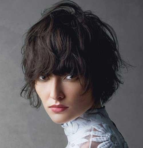 13.Shaggy-Short-Haircut Shaggy Short Haircuts