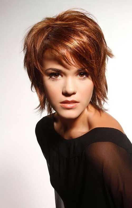 9.Shaggy-Short-Haircut Shaggy Short Haircuts
