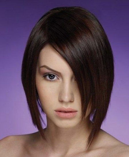 Asymmetric-Short-Bob-Haircut Best Asymmetrical Bob Hairstyles