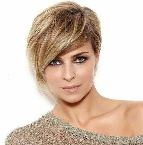 Asymmetrical-Long-Bangs Best Short Haircuts You will Want to Try