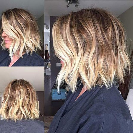 Beautiful-Wavy-Hair Best Short Hair Color Ideas