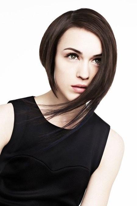 Best-Asymmetrical-Short-Hair Best Asymmetrical Bob Hairstyles