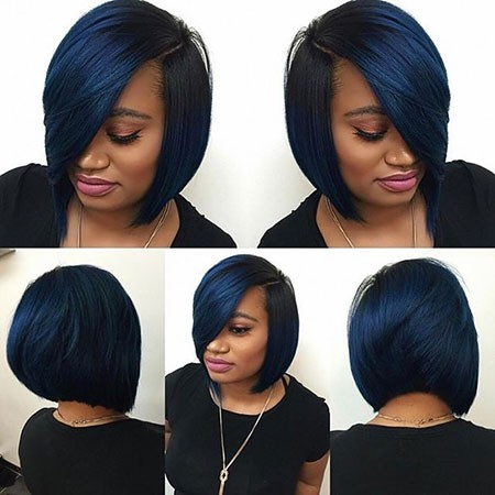 Black-Bob Best Short Hairstyles for Black Women