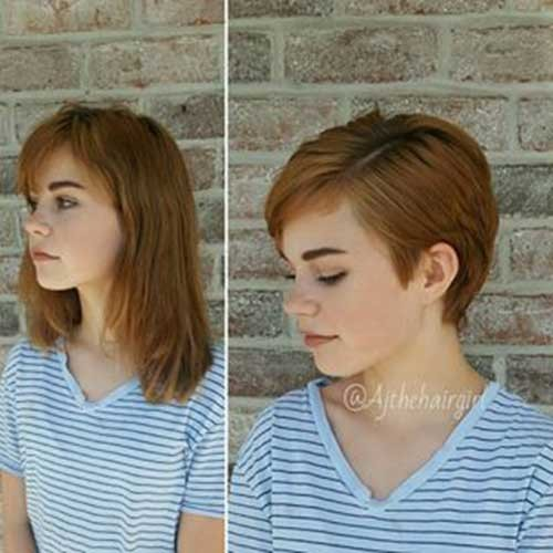 Bob-To-Pixie-Haircut Best Pixie Haircuts for 2018