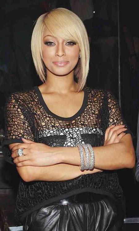 Celebrities-Short-Hair-Asymmetric Best Asymmetrical Bob Hairstyles