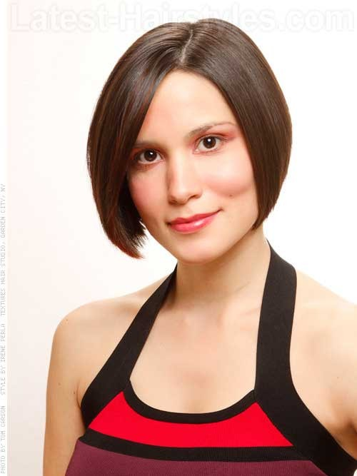 Chin-Length-Bob-for-Fine-Short-Hairstyle Best Short Haircuts for Straight Fine Hair