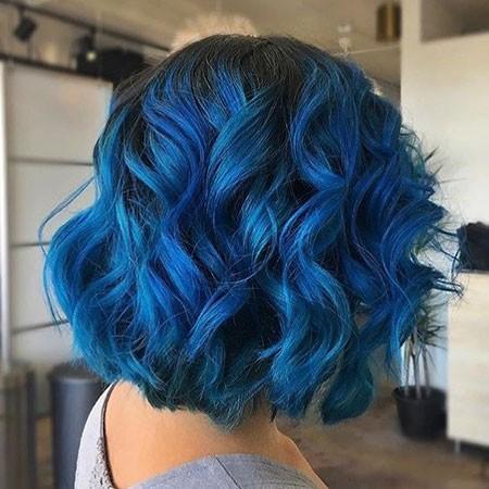 Curly-Hair-2 Best Short Blue Hair