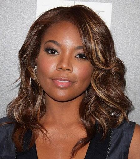 Cute-Golden-Waves Cute Short Hairstyles for Black Women