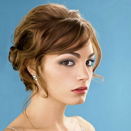Cute-Style-2 Bridal Hairstyles for Short Hair