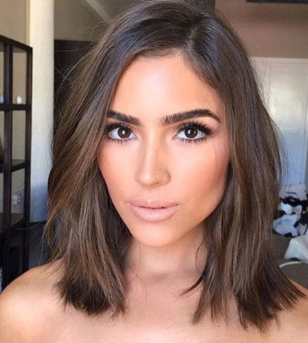 Daily-Look-Short-Brunette-Hairtyles Popular Short Brunette Hairstyles