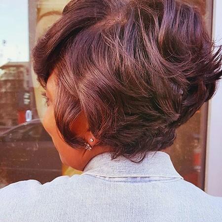 Dark-Hair Best Short Hairstyles for Black Women