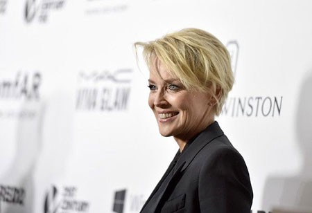 Formal-Style New Sharon Stone Short Hairstyles