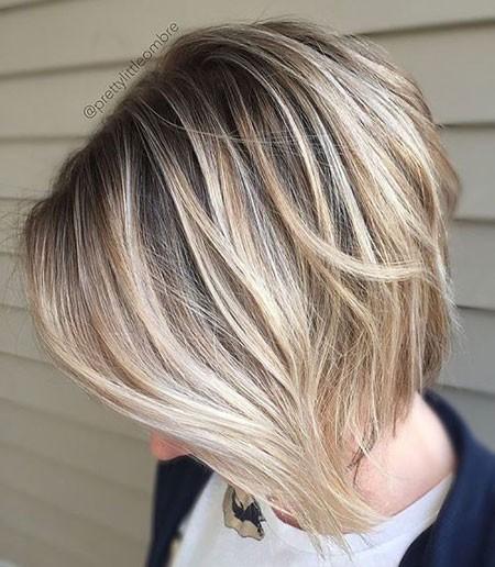 Haircut-Short-at-Back-Long-at-Front Short Cute Hairstyles