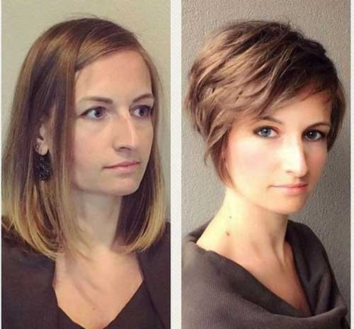 Hairstyle-for-Large-Nose Best Short Haircuts You will Want to Try