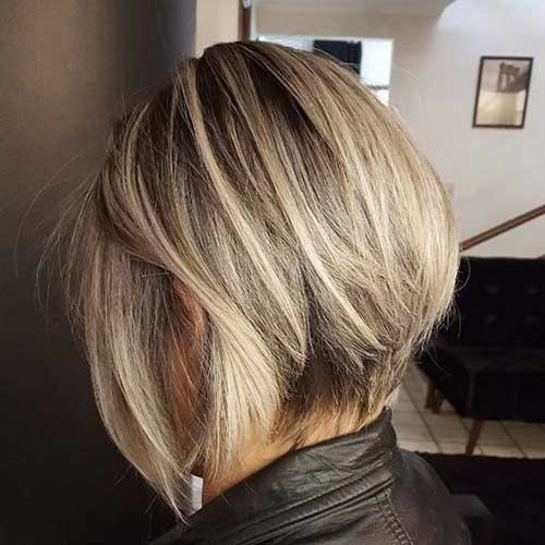 Inverted-Blonde-Bob-Hairstyle Best Short Haircuts You will Want to Try