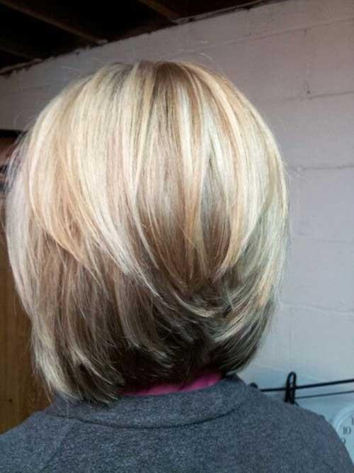 Layered-Bob-Haircut Beautiful Layered Short Haircuts for Ladies