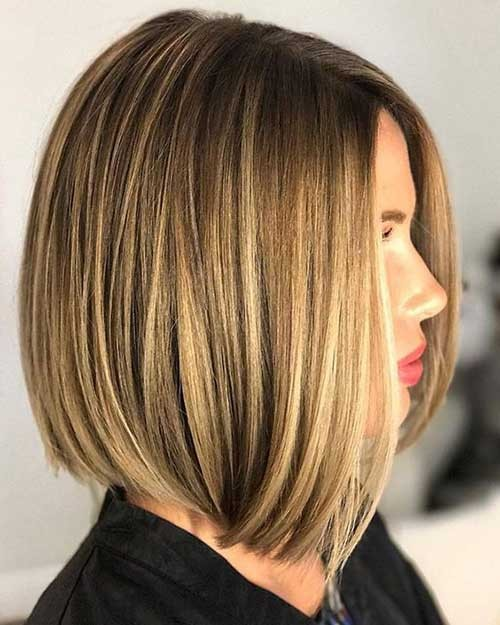 Long-Bob-Haircut-2018 Latest Bob Haircuts for 2018