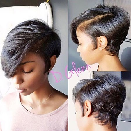 Long-Pixie-Short-Hairstyles-for-Black-Women Best Short Hairstyles for Black Women