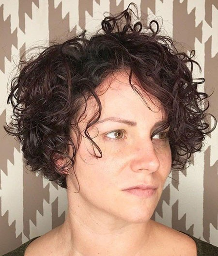 Messy-Curls-1 Short Natural Curly Hairstyles