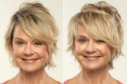Messy-Straight-Hairstyle-for-Fine-Hair Best Short Haircuts for Straight Fine Hair
