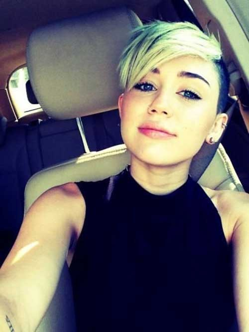 Miley-Cyrus-Pixie Best Pixie Haircuts for 2018