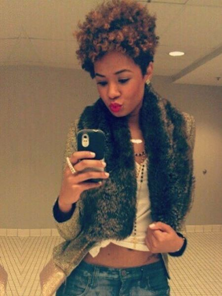 Natural-Hairstyle-with-Volume-1 Short Natural Haircuts for Black Women