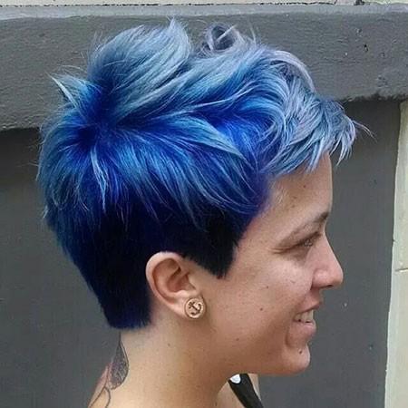 Pixie-Hair Best Short Blue Hair
