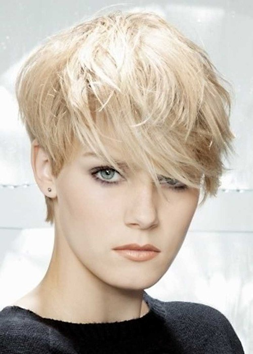 Pixie-very-short-layered-hair Very Short Pixie Haircuts for Women