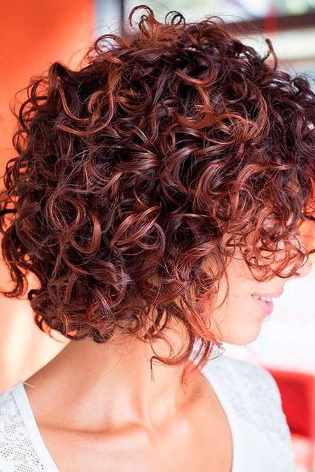 Sassy-Hair Hairstyles for Short Curly Hair