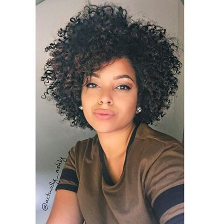 Short-Black-Curly-Hairtyles Short Natural Curly Hairstyles