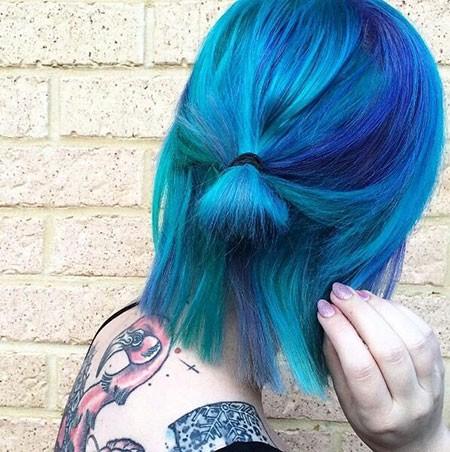 Short-Blue-Hair Best Short Blue Hair