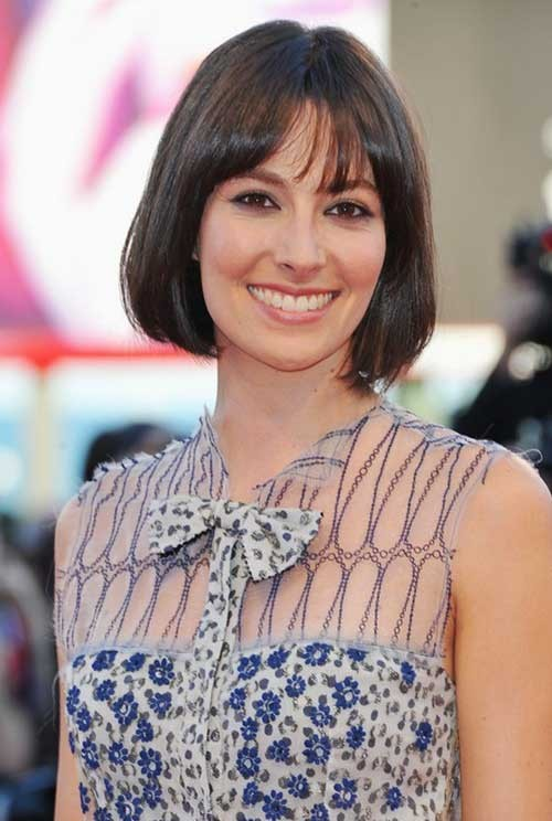 Short-Bob-Hairstyle-for-Fine-Straight-Hair Best Short Haircuts for Straight Fine Hair