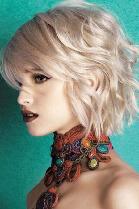 Short-Hairtyles-for-Wavy-Hair Short Hairstyles for Wavy Hair