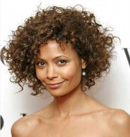 Short-Layered-Cuts-for-Natural-Curly-Hair Short Natural Curly Hairstyles