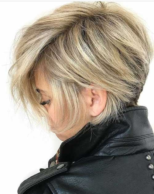 Side-Swept-Bangs-for-Short-Hair Best Short Haircuts You will Want to Try