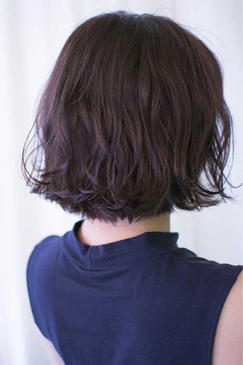Soft-Wavy-Asian-Bob Latest Bob Haircuts and Styles for You
