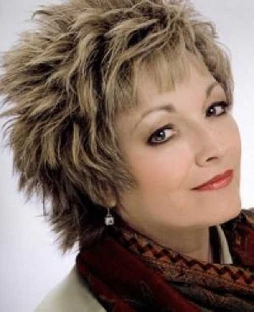 The-Best-Shaggy-Hairstyle-for-Women-Over-50 Short Shaggy Haircuts
