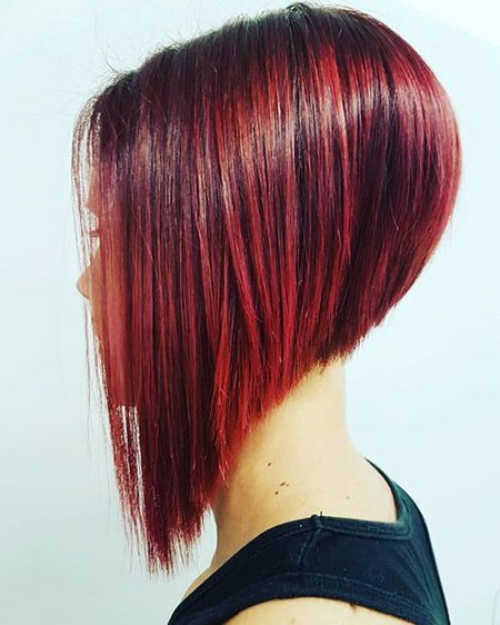A-Line-Hairstyle Best Womens Short Haircuts
