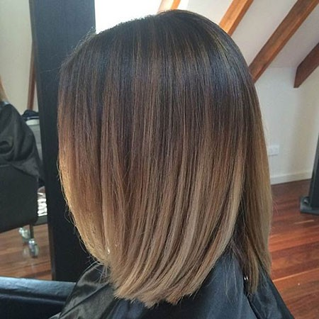 Balayage-Short-Brown-Hair New Short Hair with Color