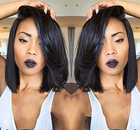 Bob-Black-Hair Short Hairstyles for Black Women 2018