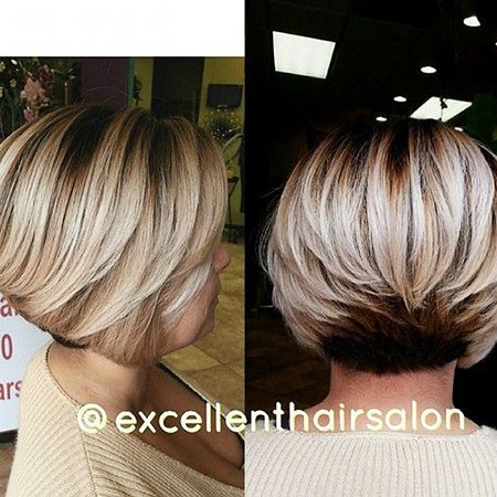 Layered-Bob-Cut Best Womens Short Haircuts