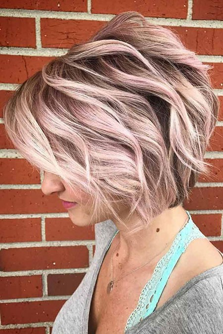 Layered-Hair Cute And Easy Hairstyles for Short Hair