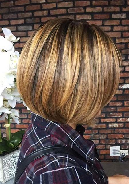 Round-Bob Best Womens Short Haircuts