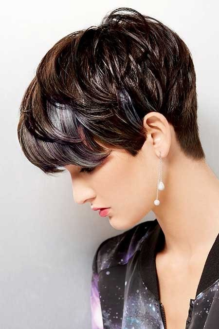 Short-Bouncy-Pixie-Hairdo-with-Messy-Bangs Long Pixie Hairstyles